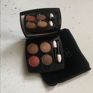 Chanel eyeshadow quad 268 candeur et experience